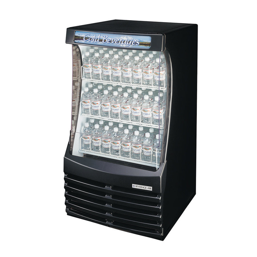 Beverage Air (Bev Air) BZ13-1-B Black Breeze Open Display C