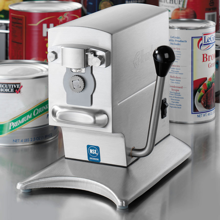 Edlund 270B Heavy Duty Two Speed Electric Can Opener with Security Lock-Down Bracket - 230V at Sears.com