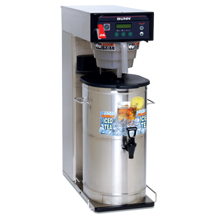 Bunn Infusion ITCB-DV Iced Tea Brewer with 29 inch Trunk and Flip Tray - Dual Voltage (Bunn 35700.0019)