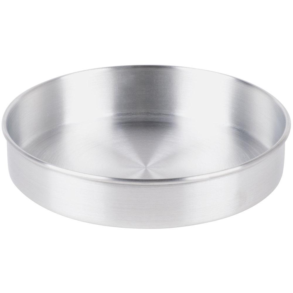 9 Quot X 2 Quot Round Aluminum Cake Pan Deep Dish Pizza Pan