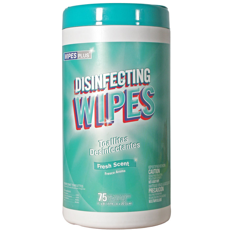 Professional Grade Disinfecting Wipes 12/Case