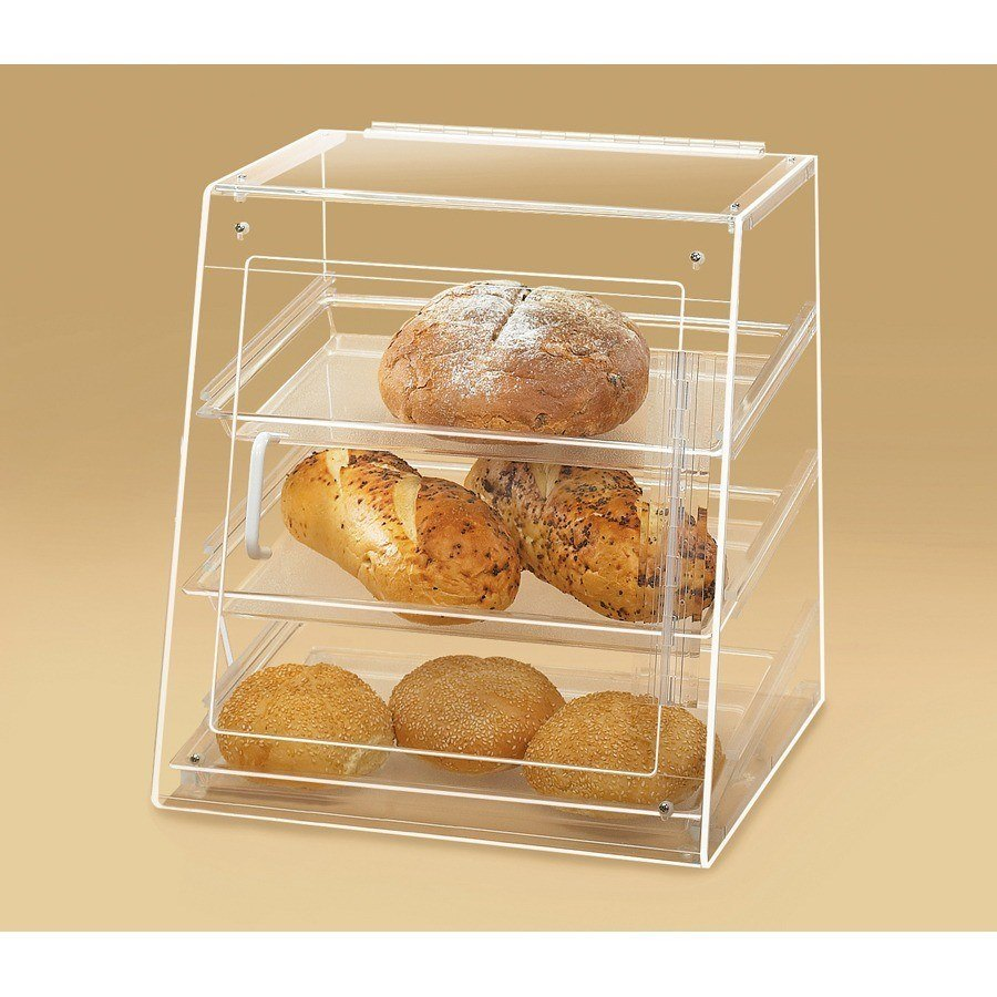 Cal Mil 961S Slant Front U-Build Bakery Display 15 1/2 inch x 15 inch x 16 inch