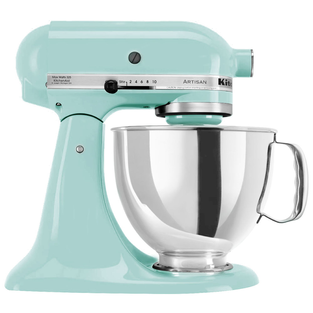 kitchenaid ksm150psic ice artisan series 5 qt stand mixer. Black Bedroom Furniture Sets. Home Design Ideas