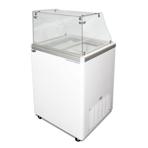 Excellence EDC-4 Ice Cream Freezer Dipping Cabinet with Straight-Sided Glass - 5 Cu. Ft. at Sears.com