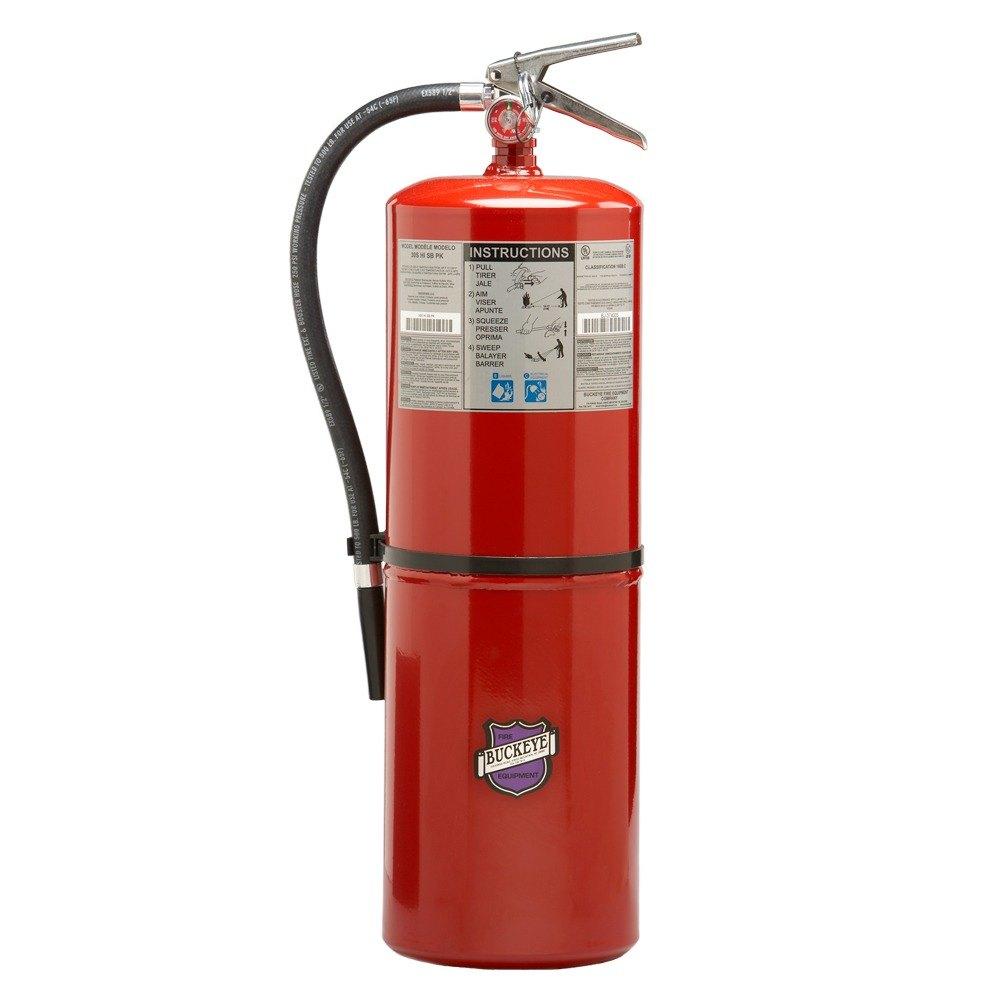 Buckeye 20 Lb Purple K Fire Extinguisher Dry Chemical Bc