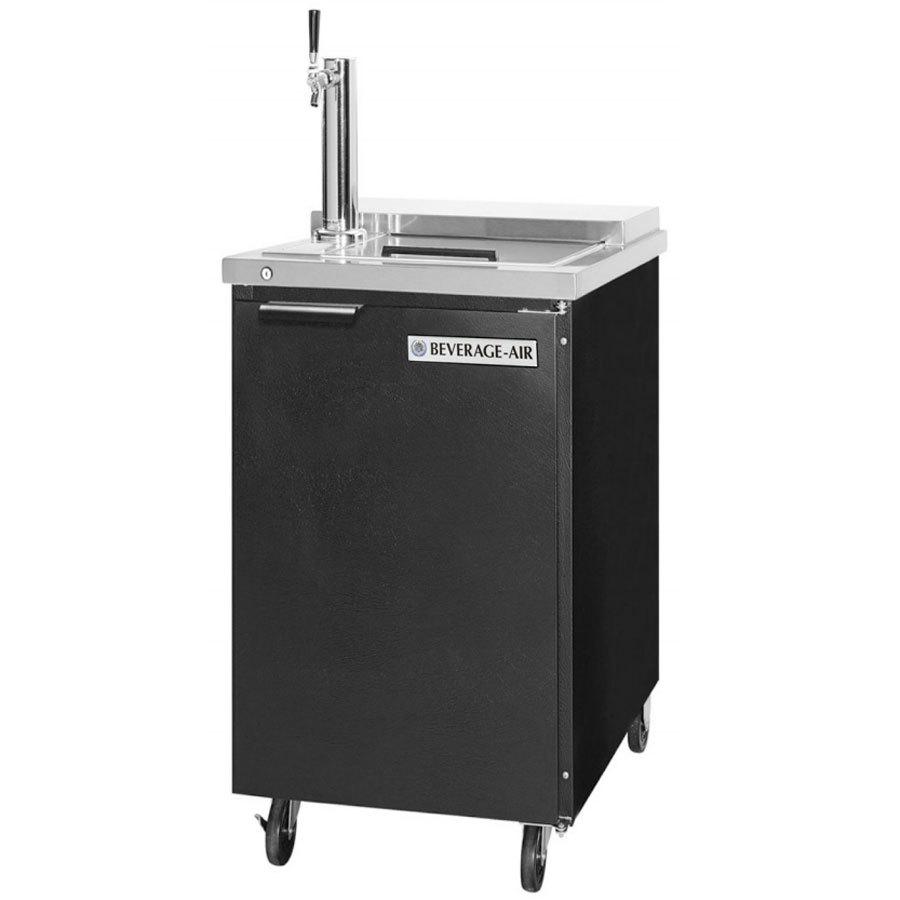 Beverage-Air BM23C-B Single Tap Club Top Kegerator Beer Dispenser ...