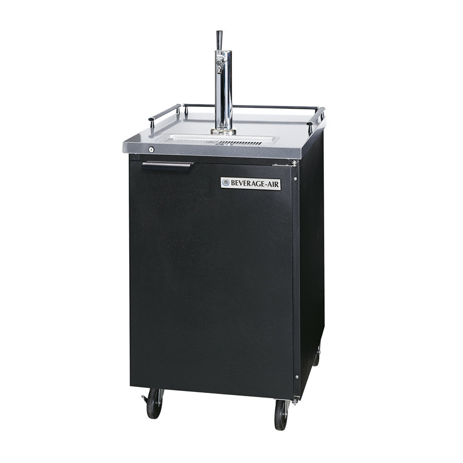 Beverage Air (Bev Air) BM23C-B Black Club Top Beer Dispenser - 1 Keg Kegerator at Sears.com
