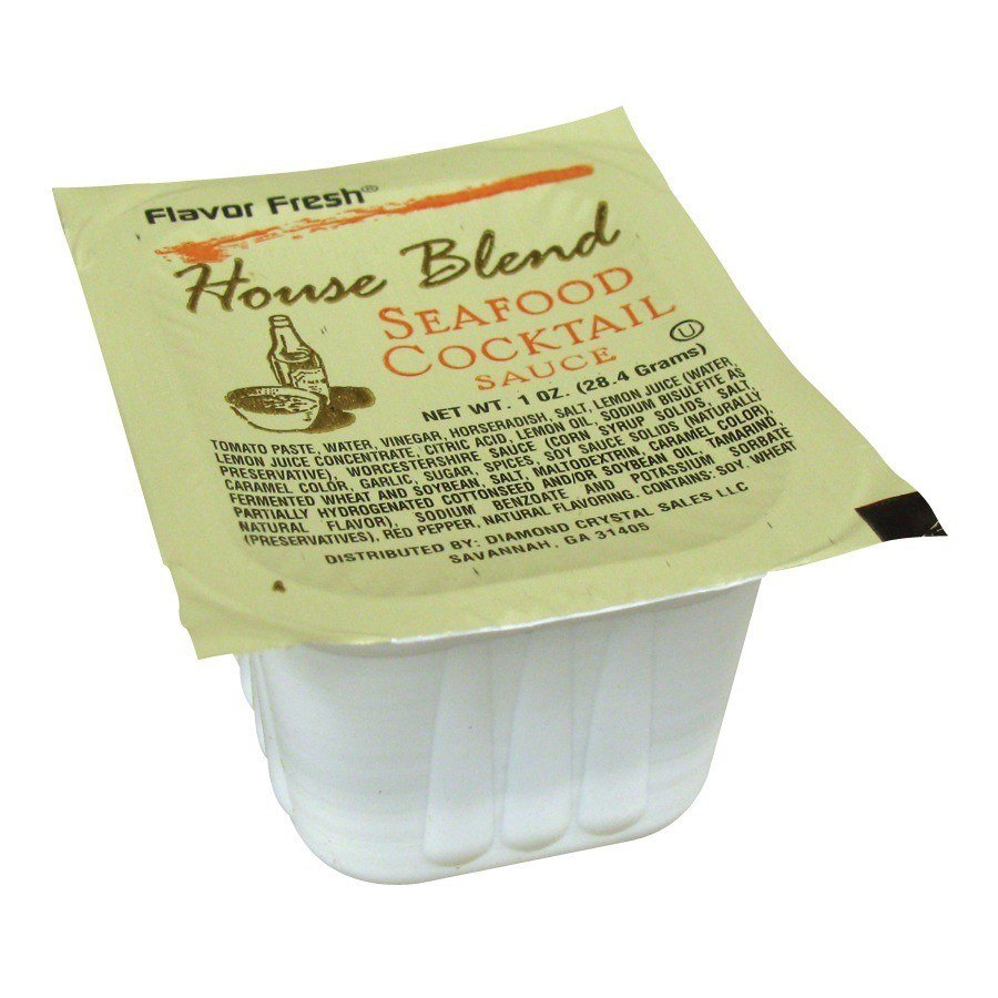 Cocktail Sauce - (100) 1 oz. Portion Cups / Case
