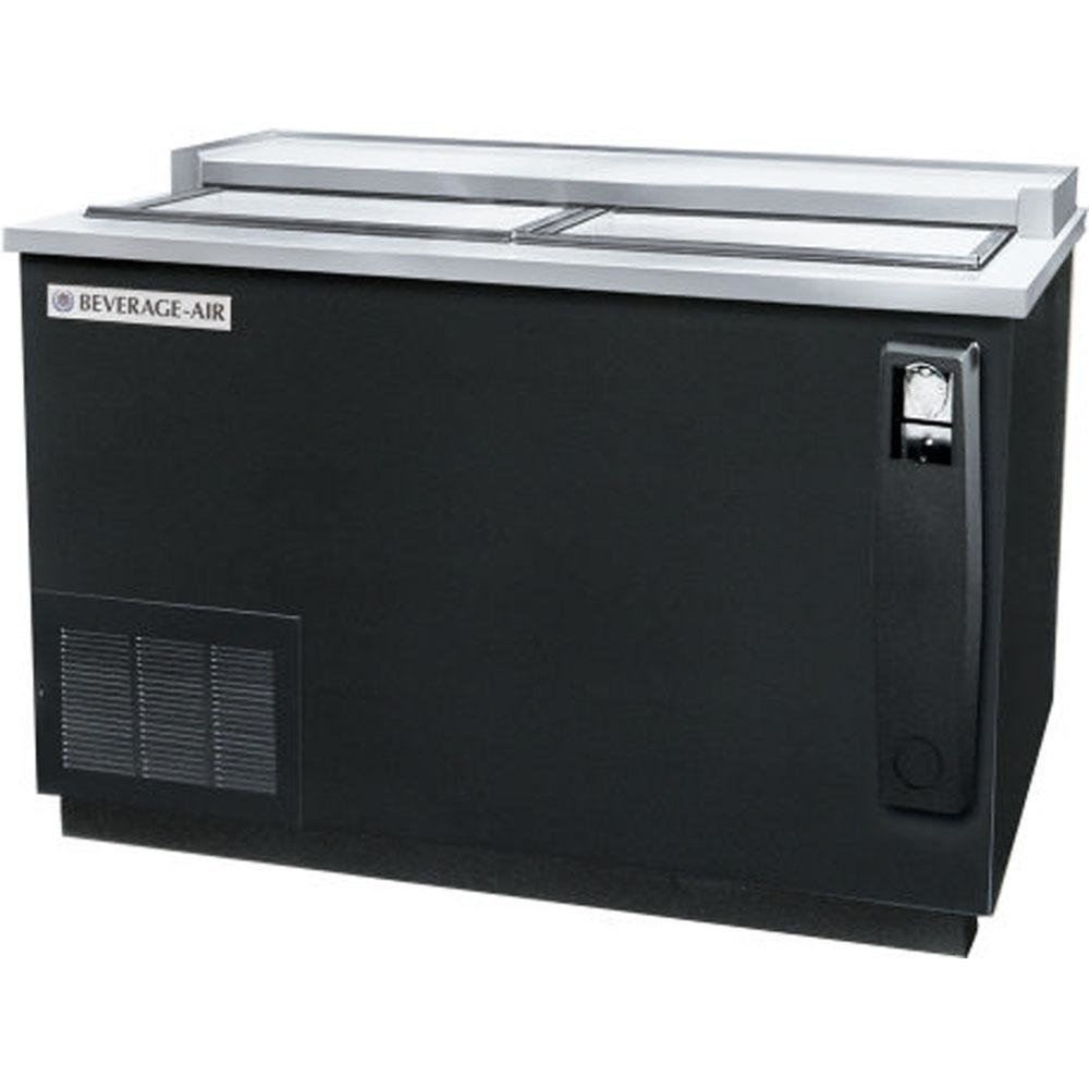 "Beverage Air (Bev Air) DW49-B Black Bottle Cooler Deep Well - 50"" at Sears.com"