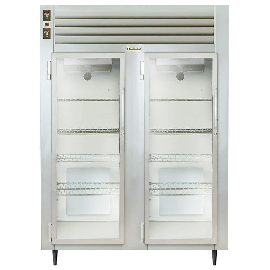 Traulsen AHF232W-FHG 52.8 Cu. Ft. Glass Door Two Section Reach In Heated Holding Cabinet - Specification Line