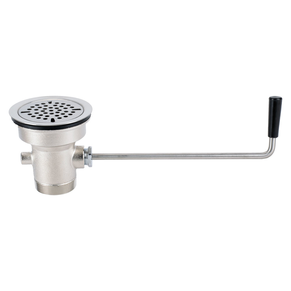 "Regency Twist Handle Waste Valve - 3 1/2"" Sink Opening"