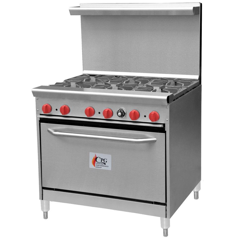 liquid propane cooking performance group 36 cpgv 6b s30 6