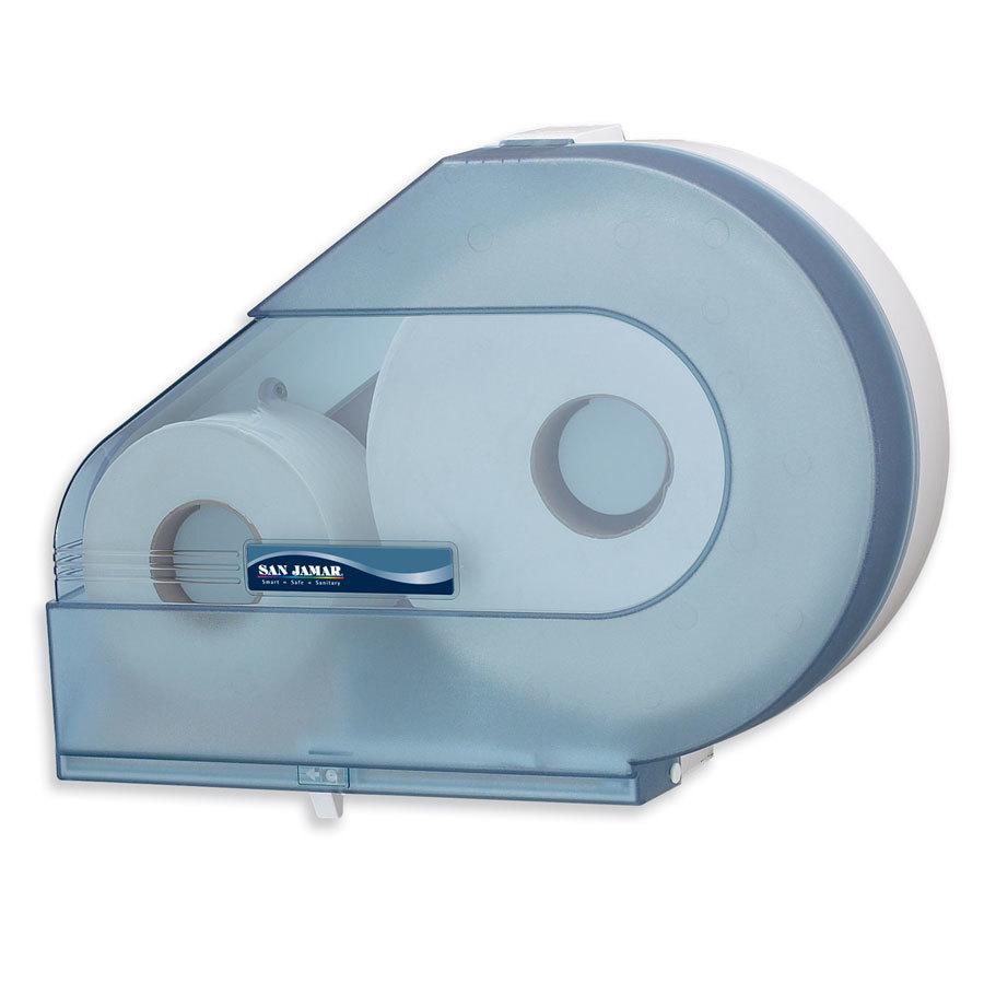 San Jamar R6500TBL Quantum 12 13 Jumbo Toilet Tissue Dispenser