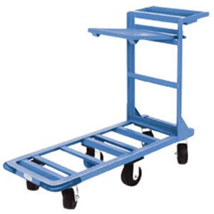 "Win-Holt 550HD/SX 18"" x 51"" Heavy Duty Utility Cart with Heavy Duty Rubber Wheels, Tool Tray, and Shelf - 700 lb. Capacity at Sears.com"