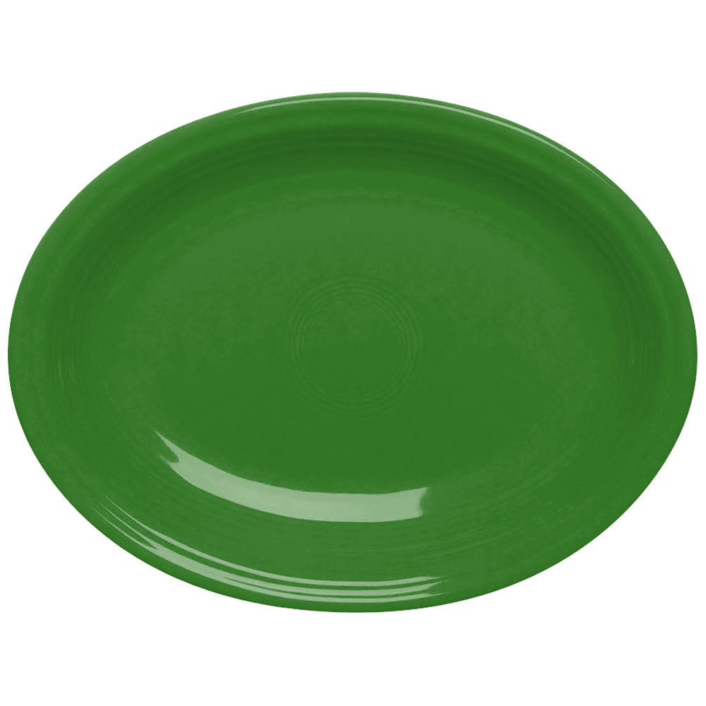 "Homer Laughlin 458324 Fiesta Shamrock 13 5/8"" Platter - 12/Case"