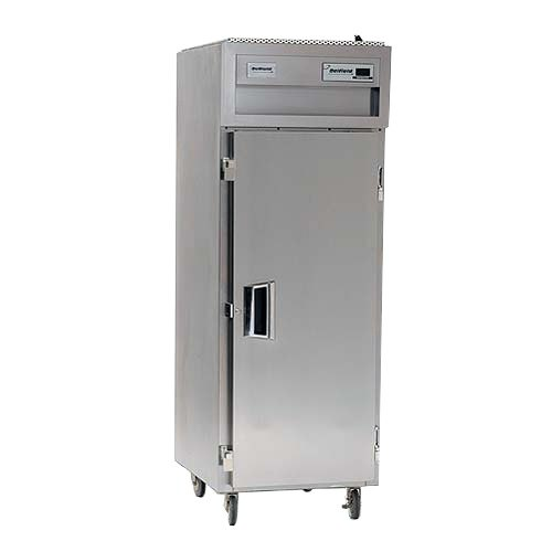 Delfield SSF1-S Stainless Steel 25 Cu. Ft. One Section Solid Door Reach In Freezer - Specification Line