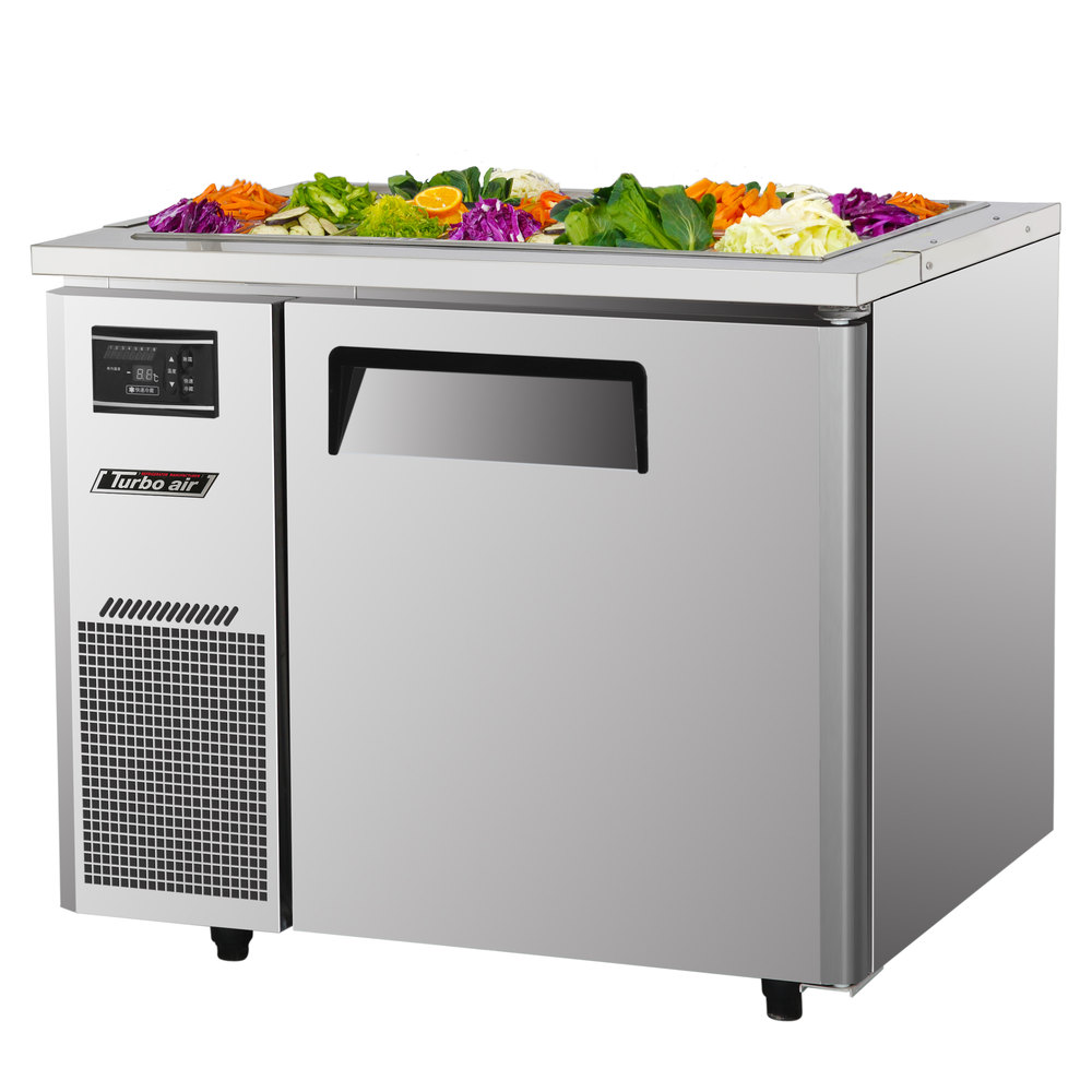 "Turbo Air JBT-36 35 3/8"" Refrigerated Buffet Display Table - 7.5 Cu. Ft."