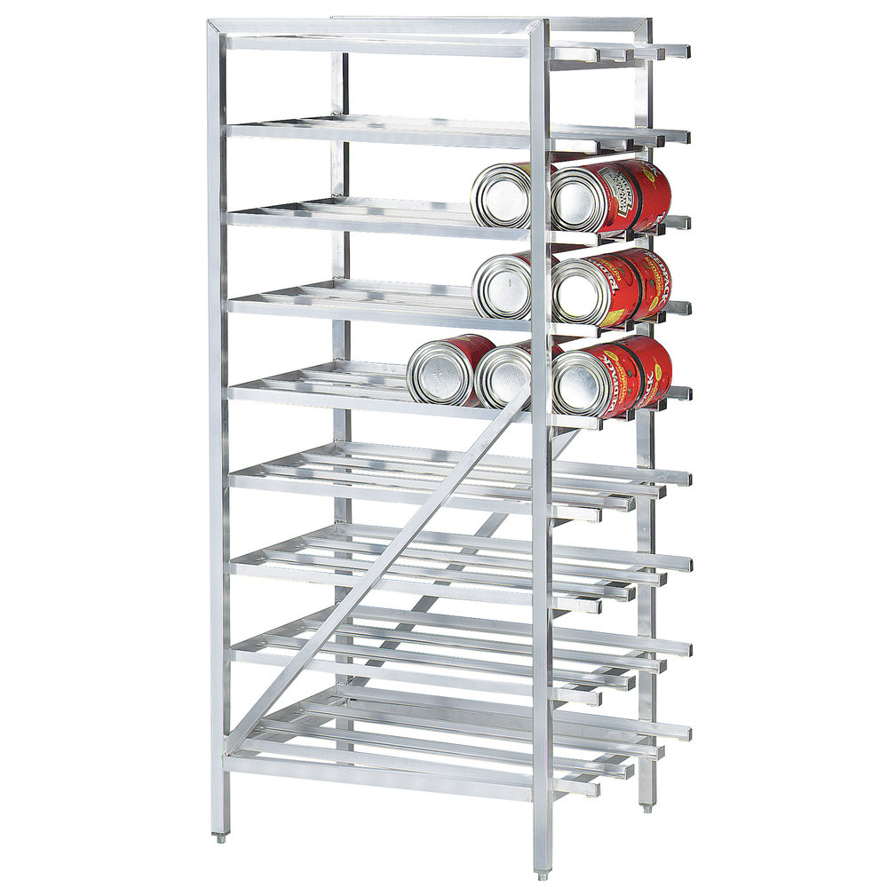 Advance Tabco Cr10 162 Spec Line 10 Aluminum Can Rack