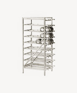 Advance Tabco CR10-162 Spec Line #10 Aluminum Can Rack Stationary - Full Size at Sears.com