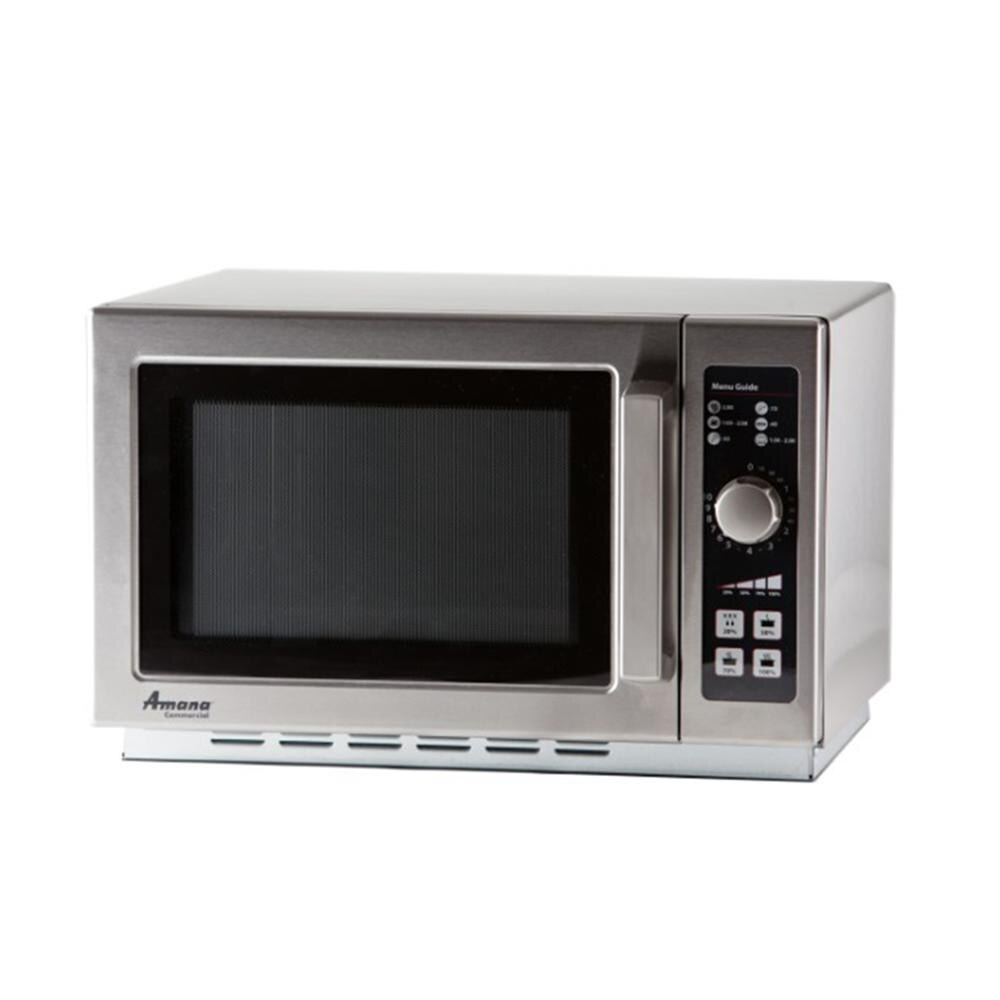 Amana Commercial Microwaves Amana RCS10DSE 1000 Watt Commercial Dial Microwave - 120V at Sears.com