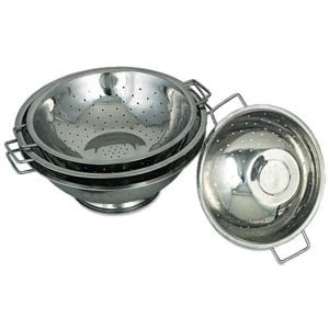 5 Qt. Stainless Steel Footed Colander