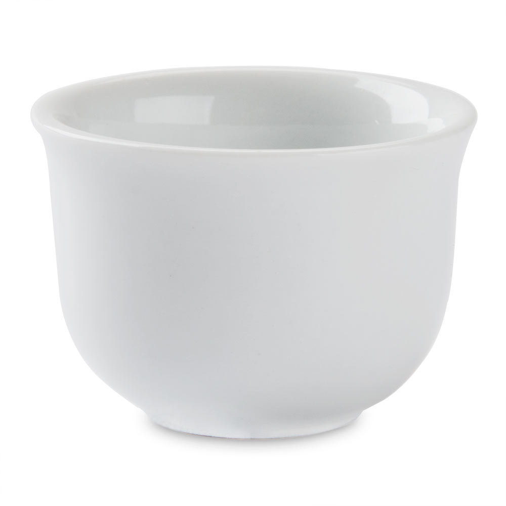Sushia 2 oz. China Sake Cup - 12 per Pack
