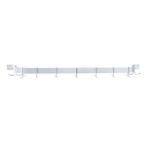 Advance Tabco GW1-84 Wall Mounted Single Bar Pot Rack - 89""