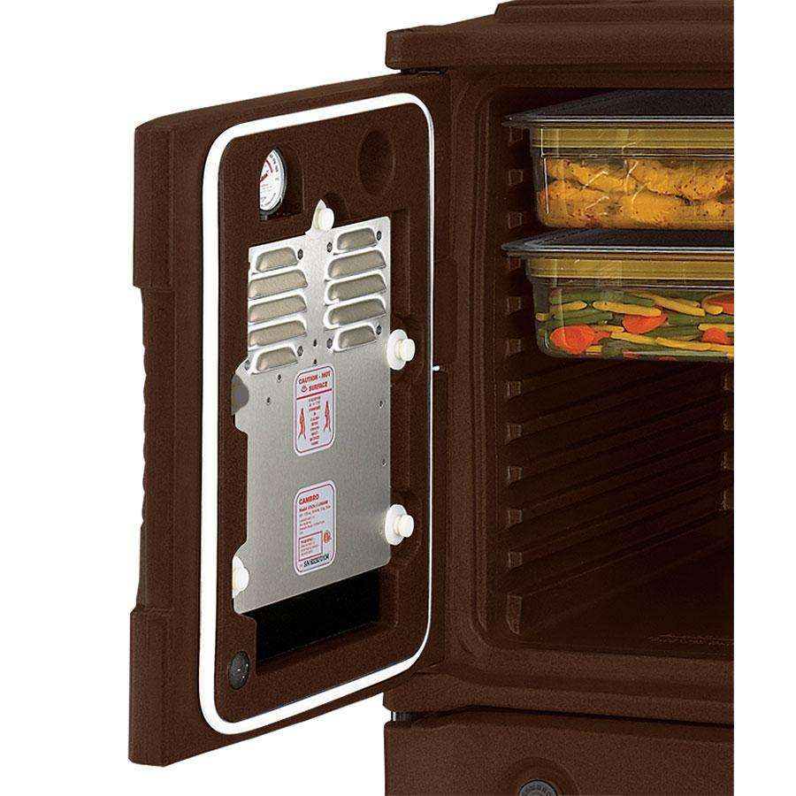 Cambro UPCHBD8002131 Dark Brown Heated Retrofit Bottom Door for Cambro Camcarrier - 220V