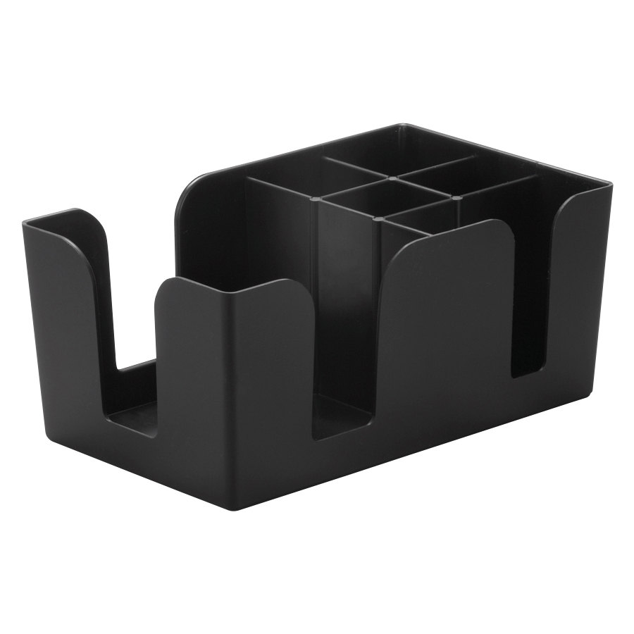 Black Plastic Bar Caddy