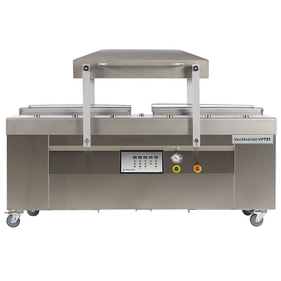 "ARY VacMaster VP731 Two Chamber Floor Model Vacuum Packaging Machine with 31"" Seal Bars"