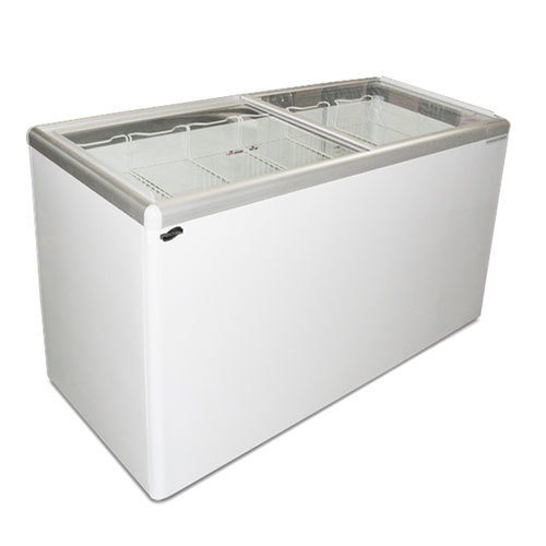 Excellence EURO-13WR Ice Cream Flat Top Flat Lid Display Freezer - 12.5 Cu.ft