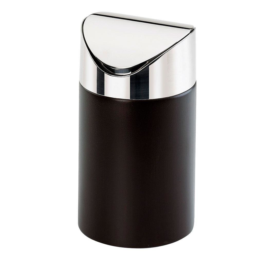 Cal Mil 1717-96 Midnight Counter Trash Bin - 5 inch x 5 inch x 7 inch