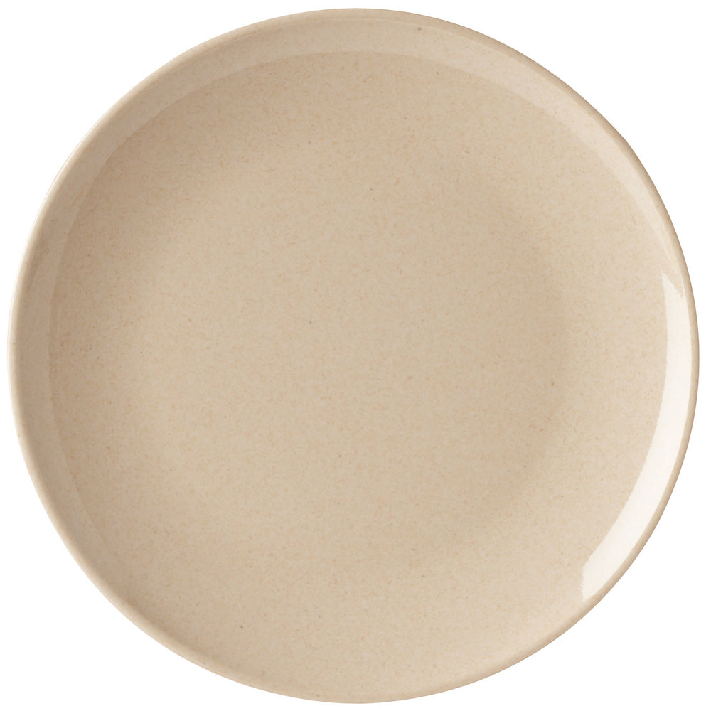 "GET BAM-16102 BambooMel 12"" Round Plate 12 / Case"