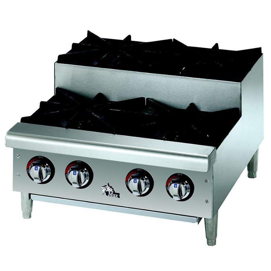 Countertop Gas Burner : Star Max 602HF-SU 2 Burner Step Up Countertop Range / Hot Plate 50,000 ...