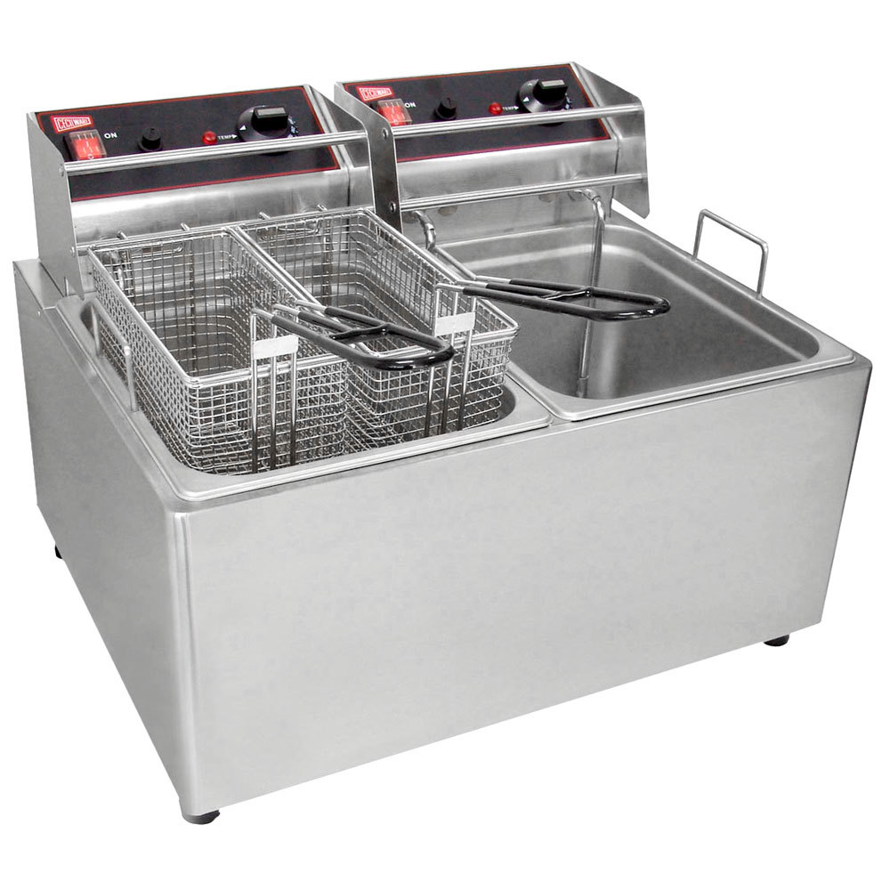 Electric Deep Fryer ~ Cecilware el stainless steel electric commercial