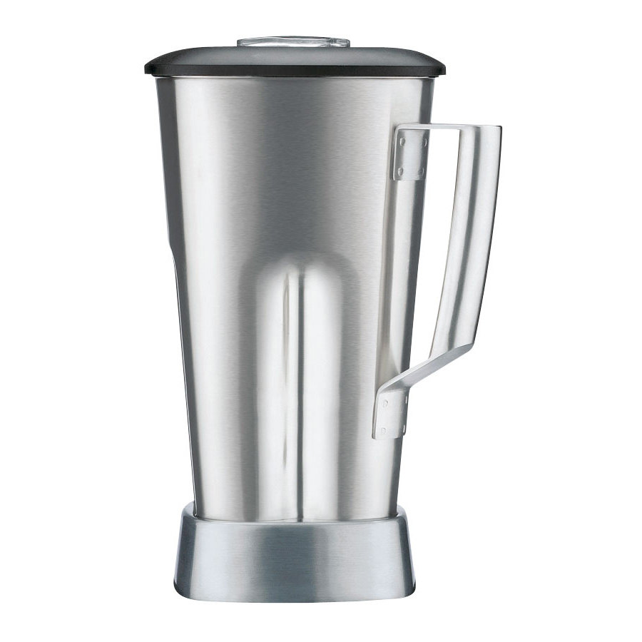 Waring CAC90 64 oz. Stainless Steel Container with Blade and Lid for All MX1 Series Blenders