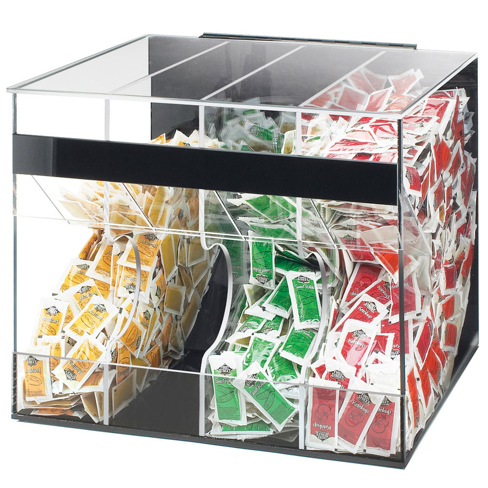 Cal Mil 866 Acrylic Top Loading Condiment Packet Dispenser