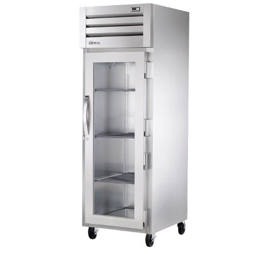 True STR1R-1G Specification Series One Section Reach In Refrigerator with Glass Door - 31 Cu. Ft.