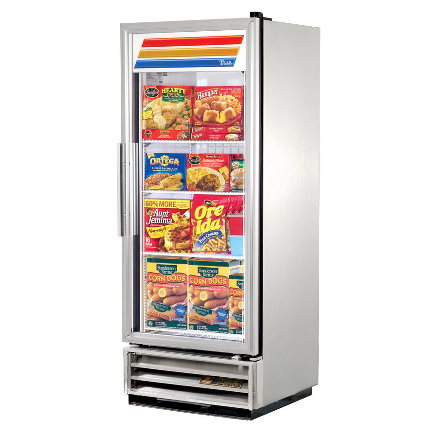 True Refrigeration True T-12FG 1 Section Glass Door Bottom Mounted Reach-In Freezer at Sears.com