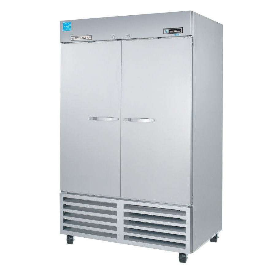 Beverage Air (Bev Air) KF48-1AS Two Door Reach In Freezer - 49 cu. ft.