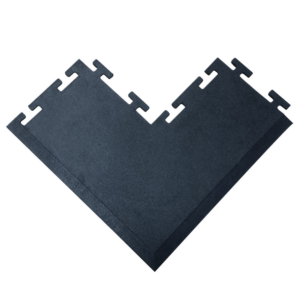 Floor mats gym - Quick Look Cactus Mat 2560 Coc Tile Lock 12 Inch X 24 Inch Black Rubber Interlocking Outside