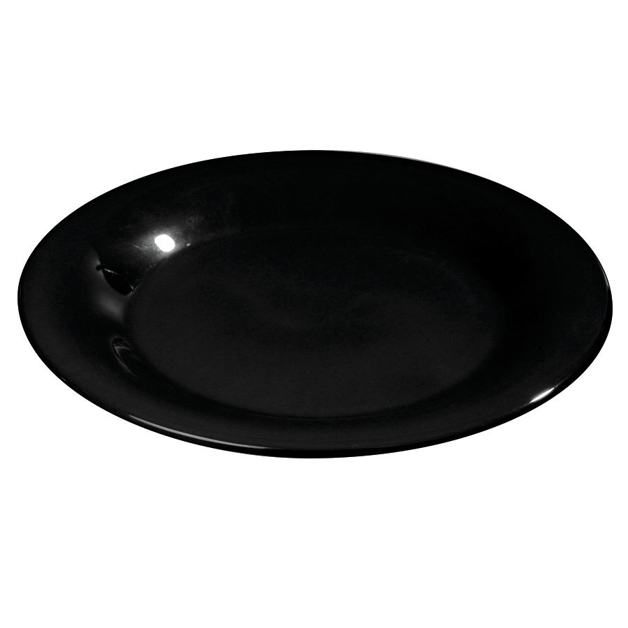 Black Melamine Plates Calypso Basics By Reston Lloyd