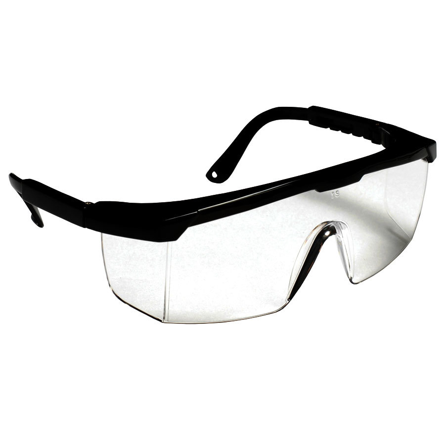 Scratch Resistant Safety Glasses Eye Protection Black
