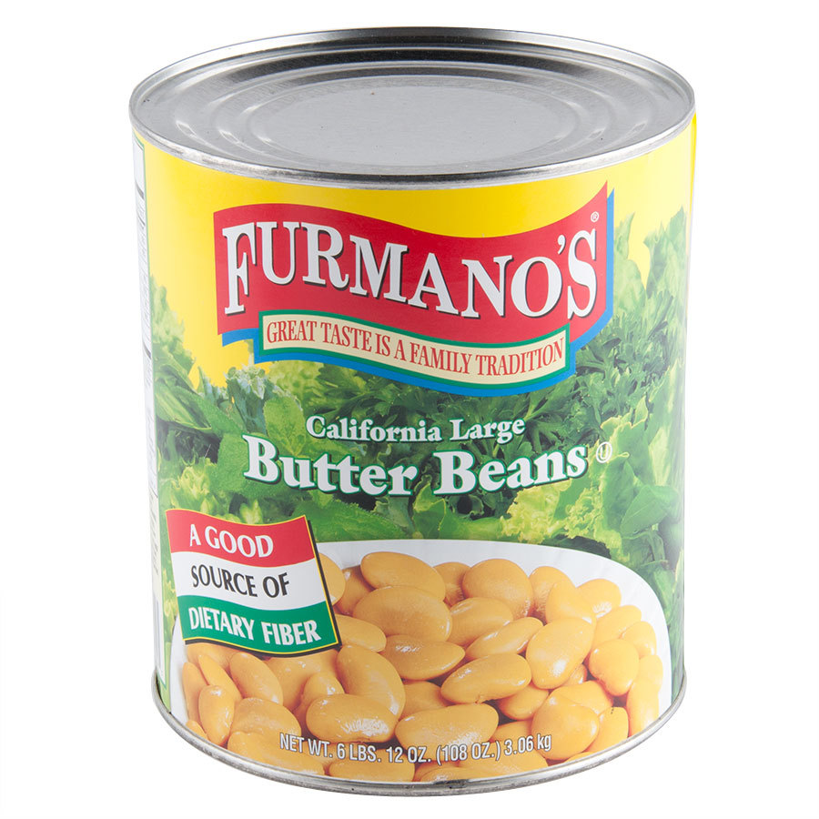 Furmano's Butter Beans #10 Can