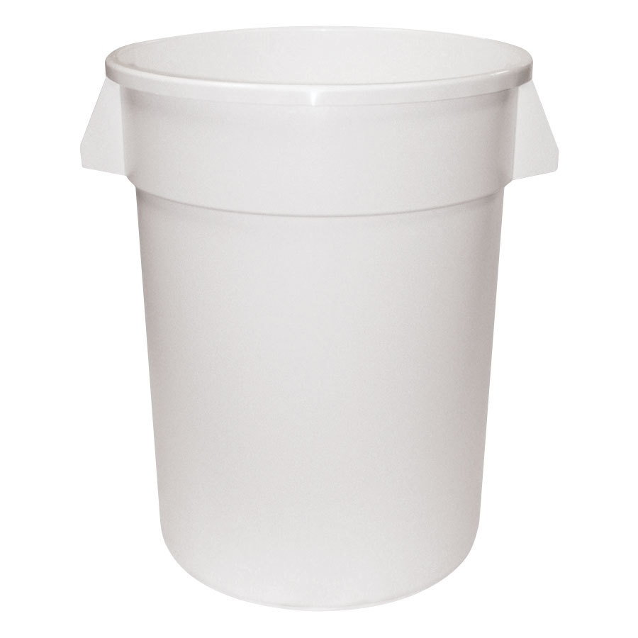 Continental 2000WH 20 Gallon White Huskee Trash Can