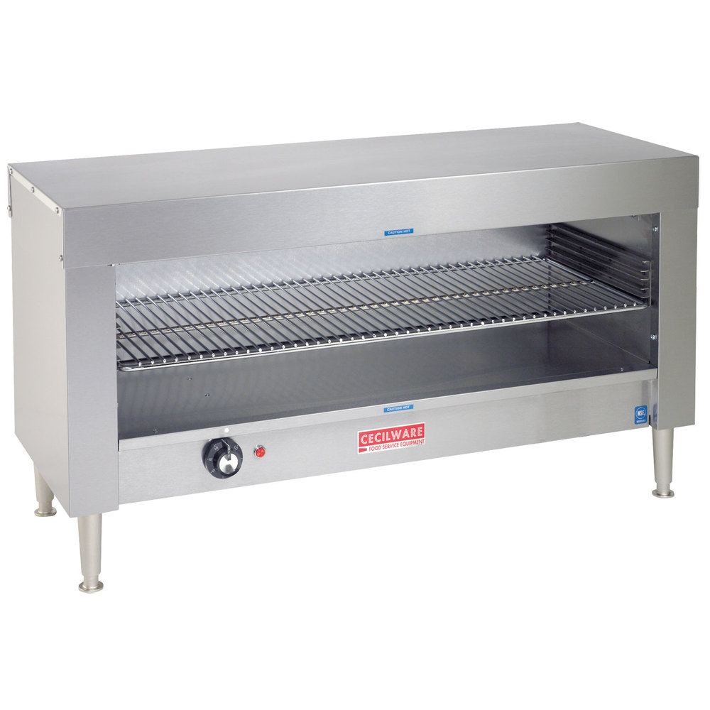 "Cecilware CM24Q 24"" x 13"" x 19"" Cheese Melter 120V"