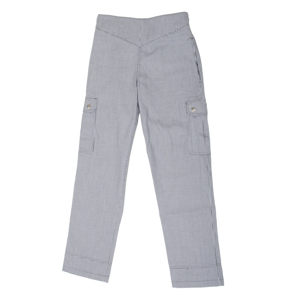 Chef Revival LP001HT 3X Houndstooth Ladies Cargo Chef Pants - Poly-Cotton Size