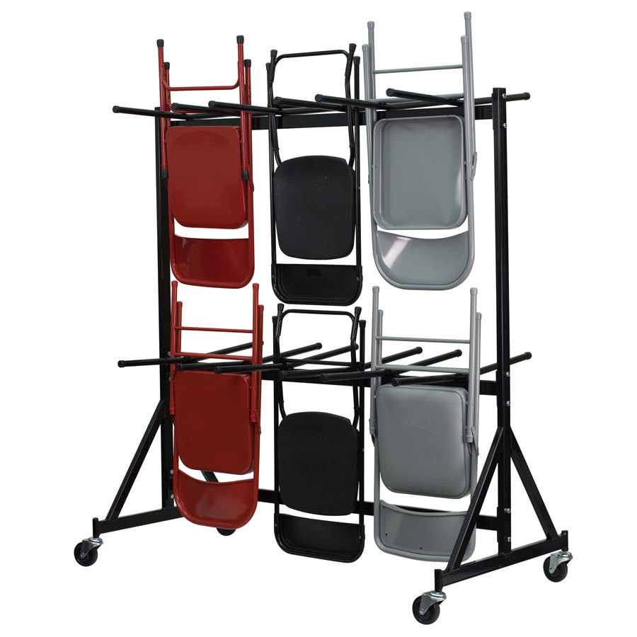 Hanging Folding Chair Truck Holds 84 Chairs