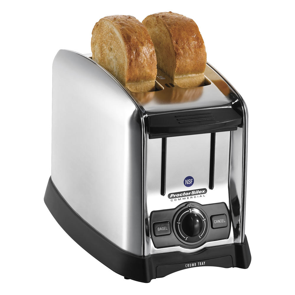 "Proctor Silex 2 Slice mercial Toaster with 1 1 2"" Wide"
