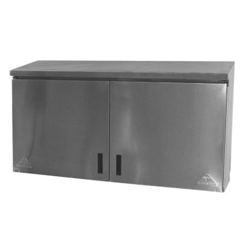 "Advance Tabco WCH-15-48 48"" Wall Cabinet with Hinged Doors"
